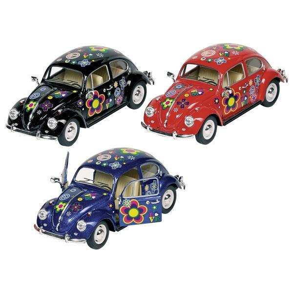 Mașinuță Volkswagen Beetle Clasic (1967), scara 1:24, 17 cm imagine edituradiana.ro
