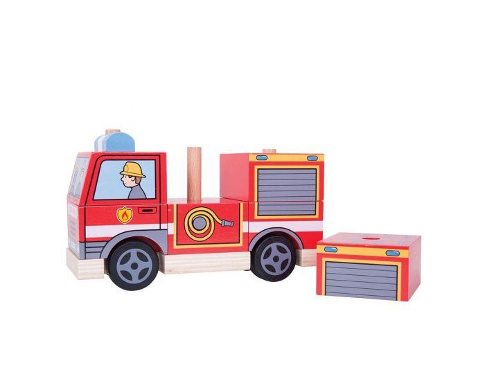 Mașină de pompieri stivuibilă imagine edituradiana.ro