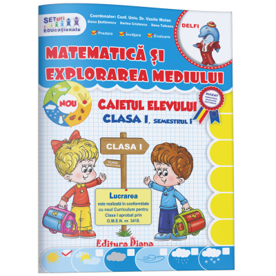 Matematica si explorarea mediului clasa I imagine edituradiana.ro