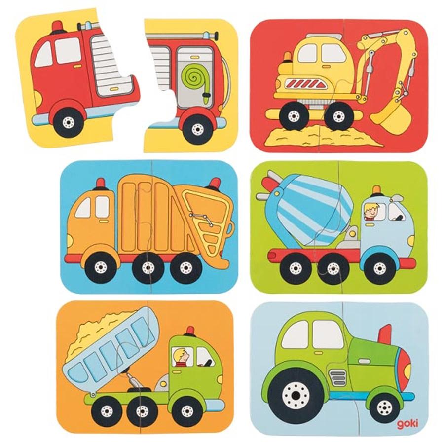 Mini puzzle - Vehicule imagine edituradiana.ro