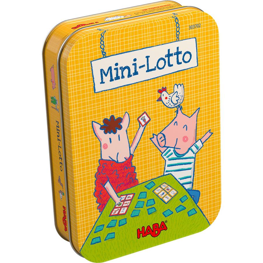 Mini-Lotto cu 24 cartonașe și 4 planșe - Ferma imagine edituradiana.ro