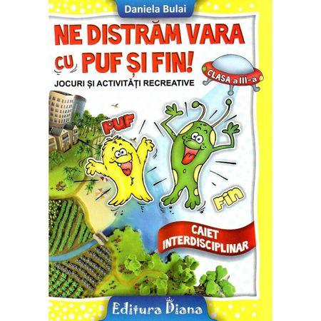 Ne distram vara cu Puf si Fin clasa a III a imagine edituradiana.ro