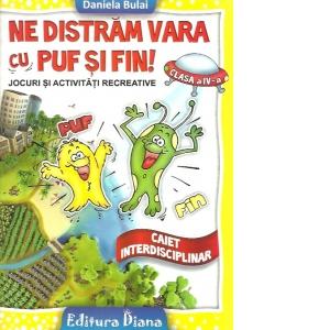 Ne distram vara cu Puf si Fin clasa a IV a imagine edituradiana.ro