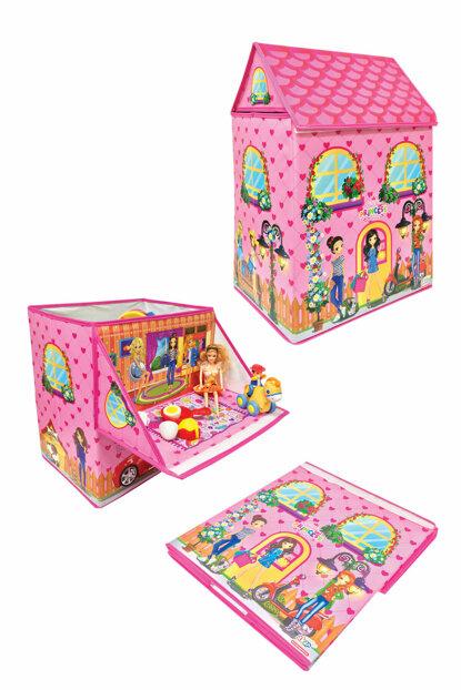 Organizator pentru jucării pliabil - Casa prințesei imagine edituradiana.ro