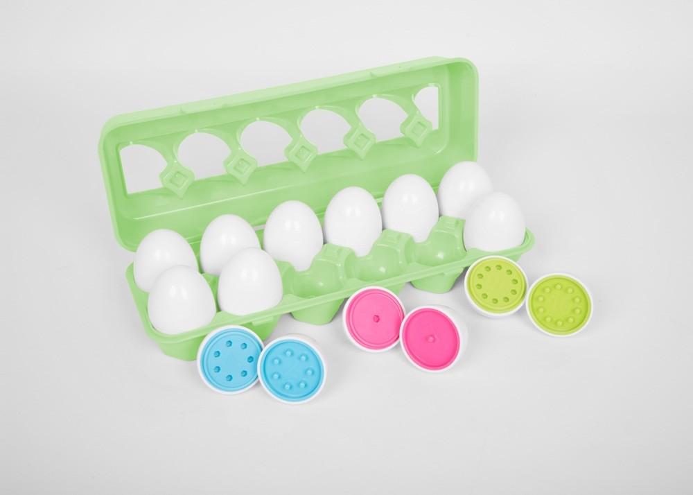 Ouă din plastic pentru potrivirea numerelor imagine edituradiana.ro