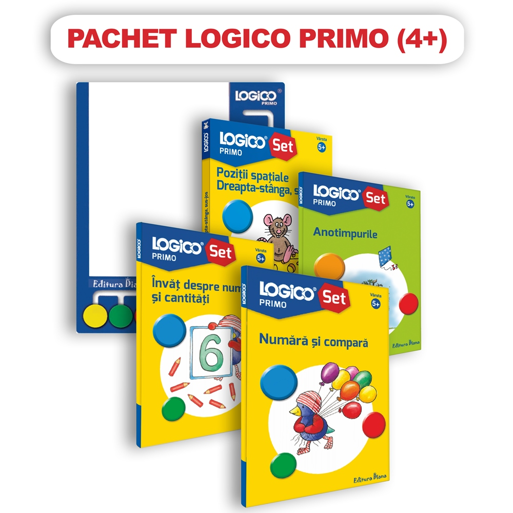 Pachet Logico Primo 4+ imagine edituradiana.ro