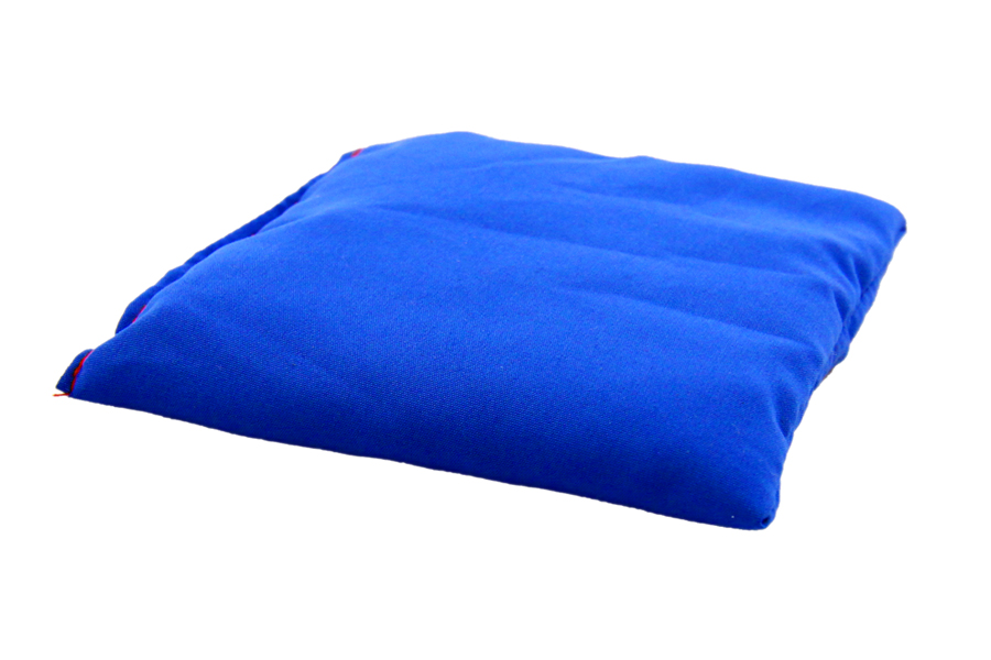 Pernuță albastră cu granule de polistiren, 10 x 10 cm imagine edituradiana.ro