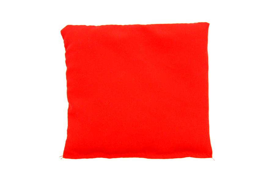 Pernuță roşie cu granule de polistiren, 10 x 10 cm imagine edituradiana.ro
