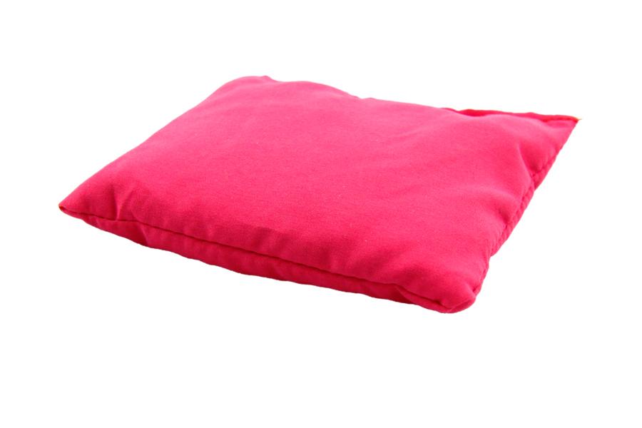 Pernuță roz cu granule de polistiren, 10 x 10 cm imagine edituradiana.ro