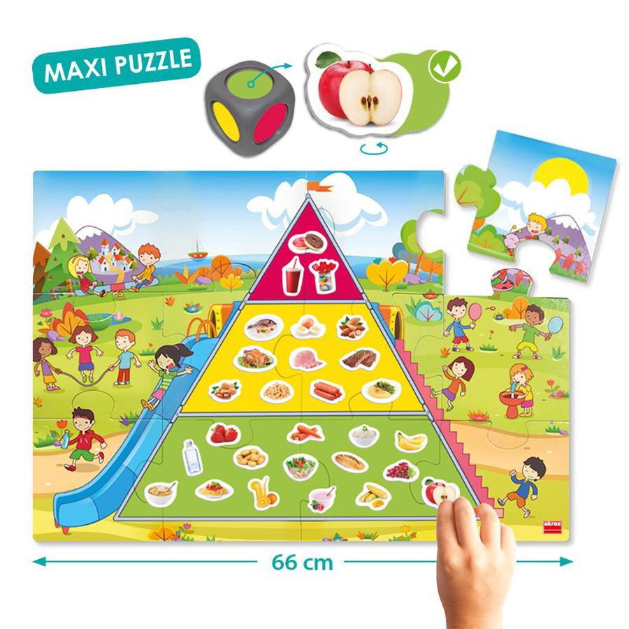Piramida alimentației sănătoase imagine edituradiana.ro