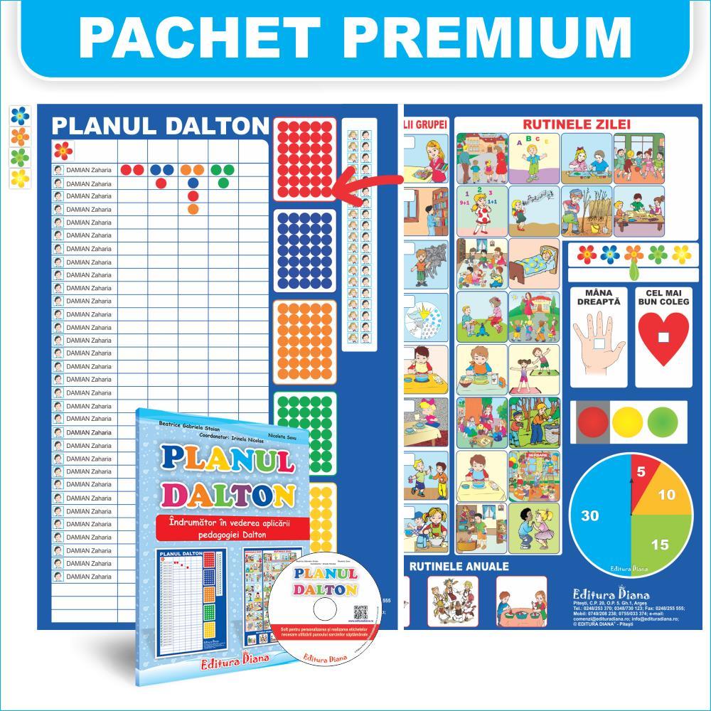 Planul Dalton - Pachet premium imagine edituradiana.ro