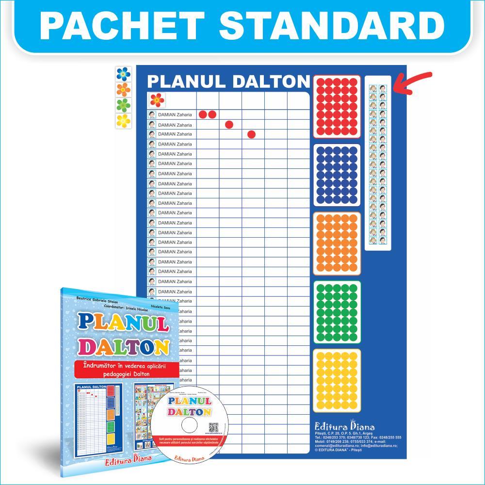 Planul Dalton - Pachet standard imagine edituradiana.ro