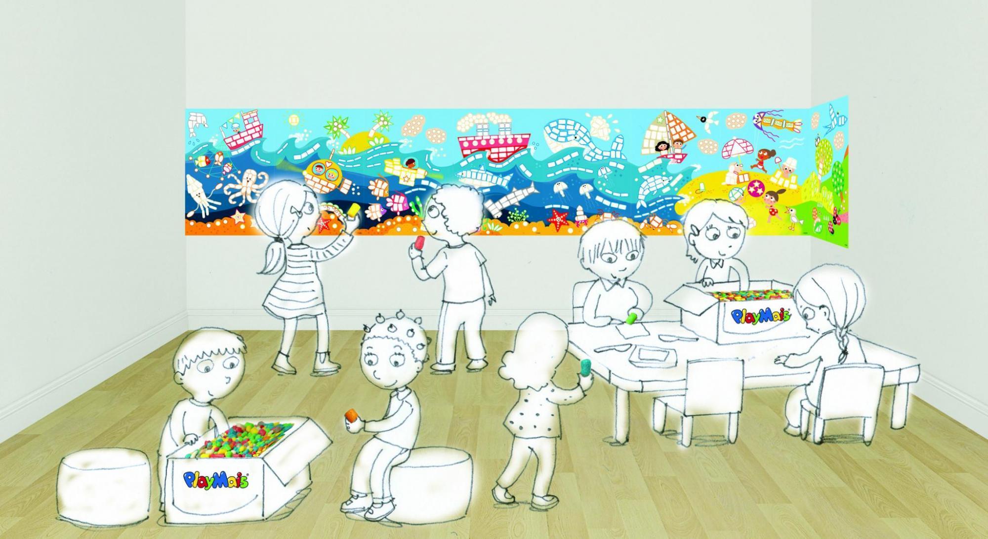 Poster gigant PlayMais - Peisaje imagine edituradiana.ro