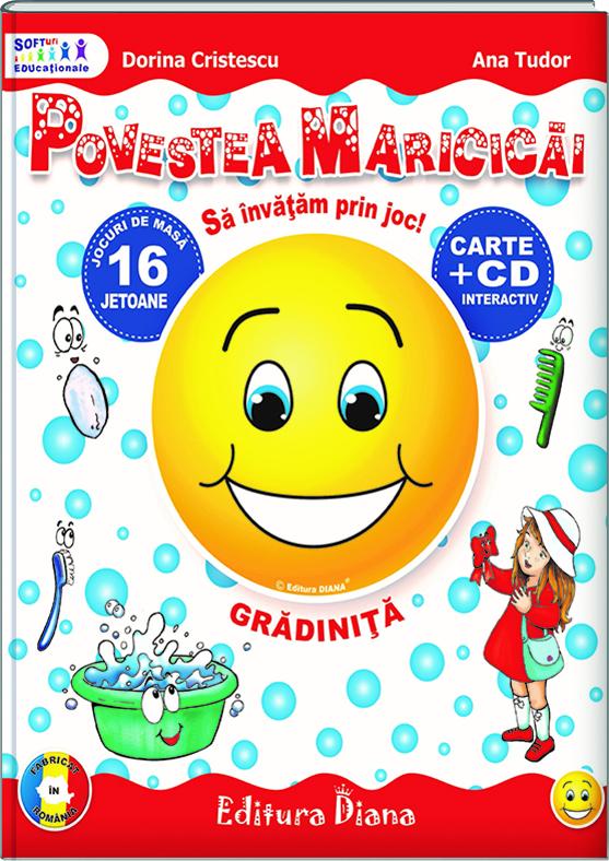 Povestea Maricicăi (carte+CD interactiv) imagine edituradiana.ro