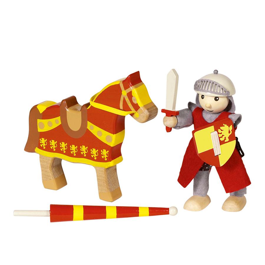 Păpușă flexibilă - Cavalerul Artus imagine edituradiana.ro