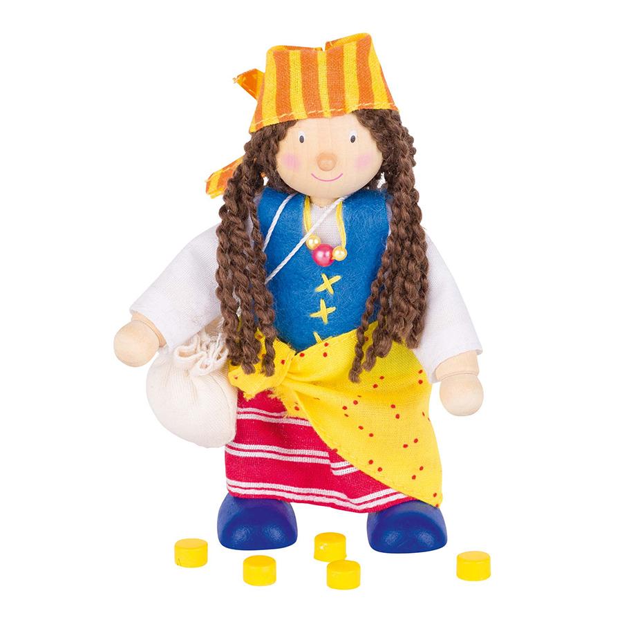 Păpușă flexibilă - Pirat (fată) imagine edituradiana.ro