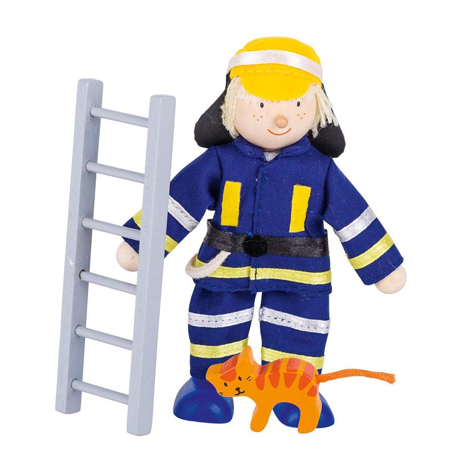Păpușă flexibilă - Pompier imagine edituradiana.ro