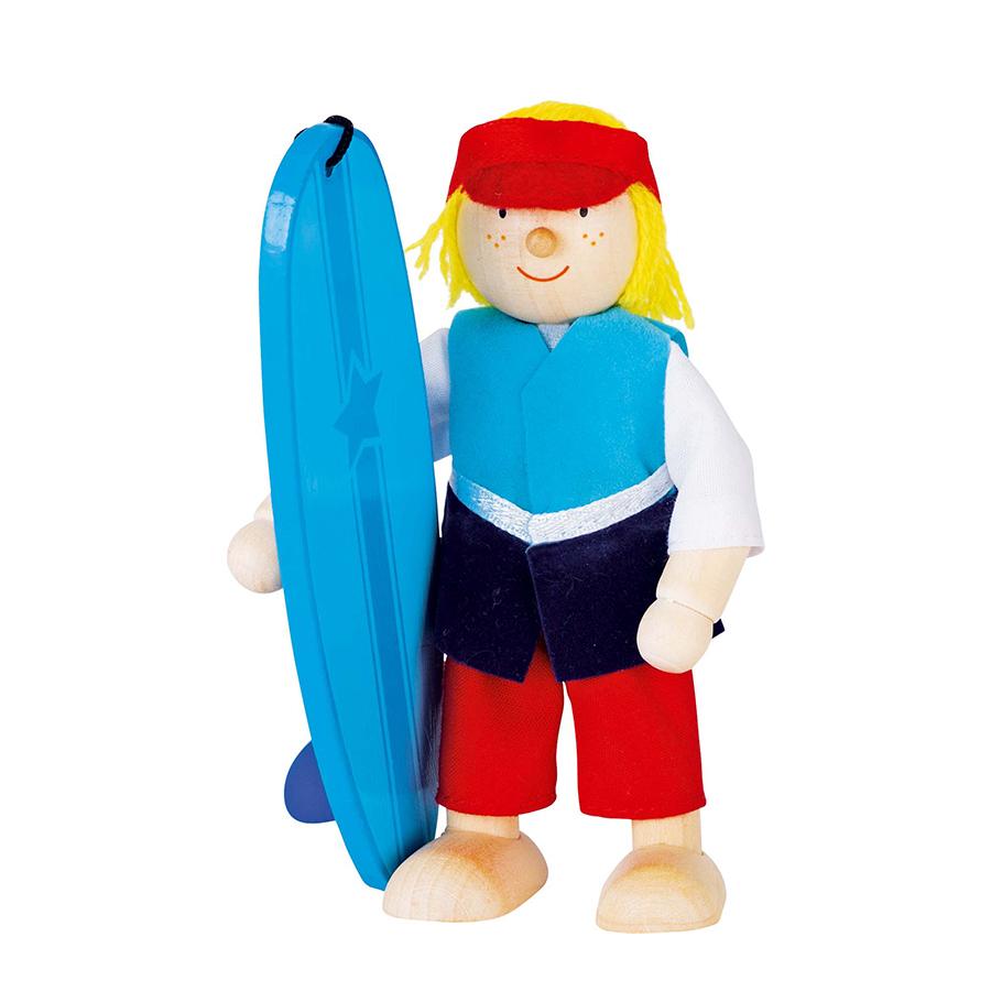 Păpușă flexibilă - Surfer imagine edituradiana.ro