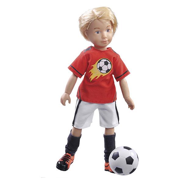 Păpușă Kruselings Michael în echipament de fotbal (23 cm) imagine edituradiana.ro