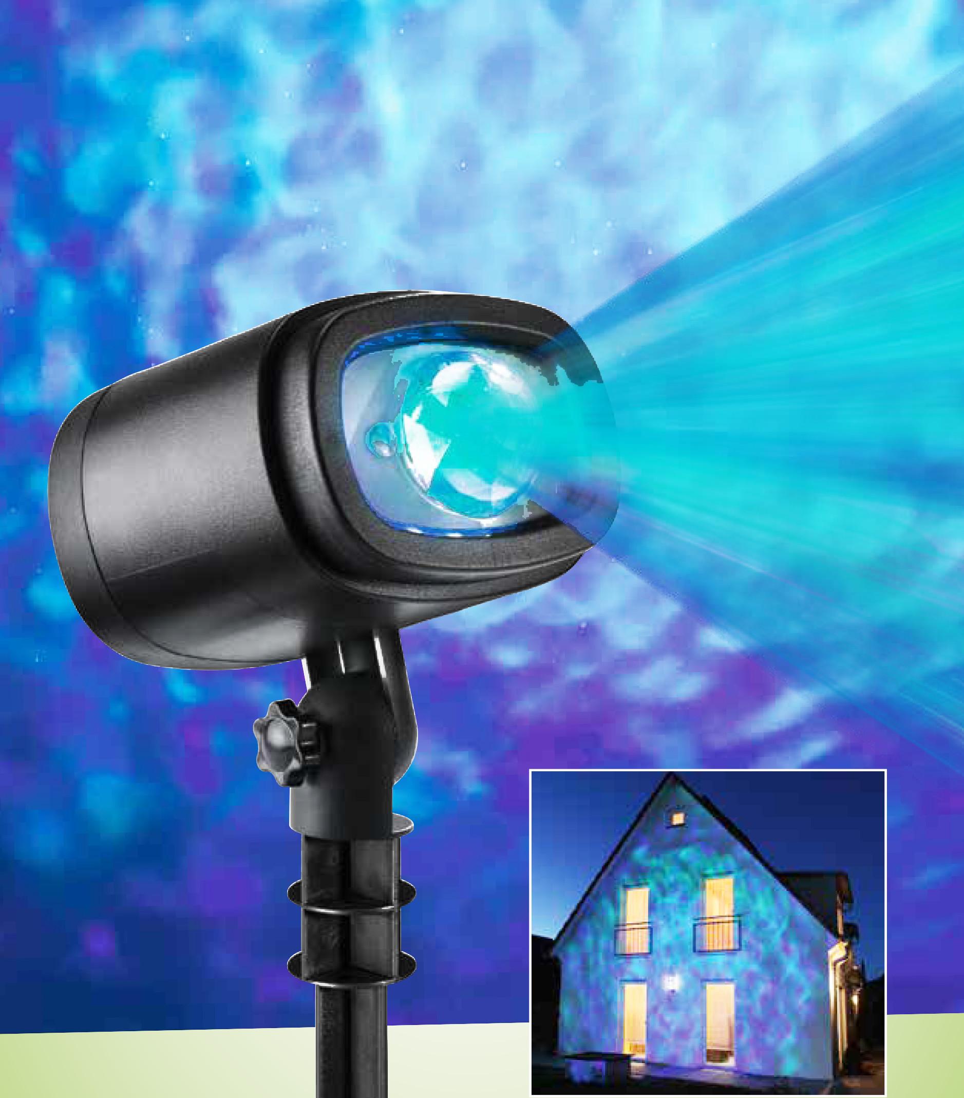 Proiector - Apă (cu LED și telecomandă) imagine edituradiana.ro