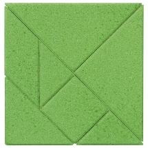 Puzzle cu 7 piese din piatră Anker - Pătrat imagine edituradiana.ro