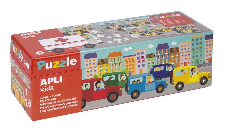 Puzzle de adunare - Mijloace de transport imagine edituradiana.ro