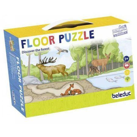 Puzzle de podea - Descoperă pădurea imagine edituradiana.ro