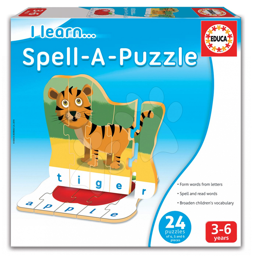 Puzzle - Învăț să pronunț literele imagine edituradiana.ro