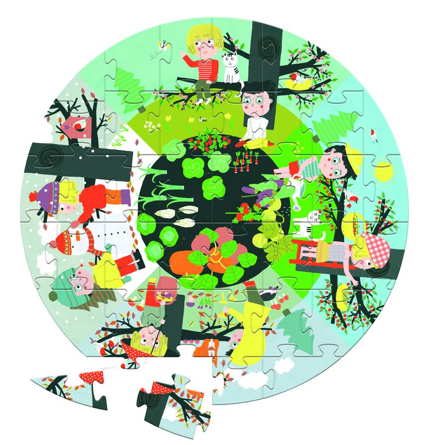 Puzzle XL circular imagine edituradiana.ro
