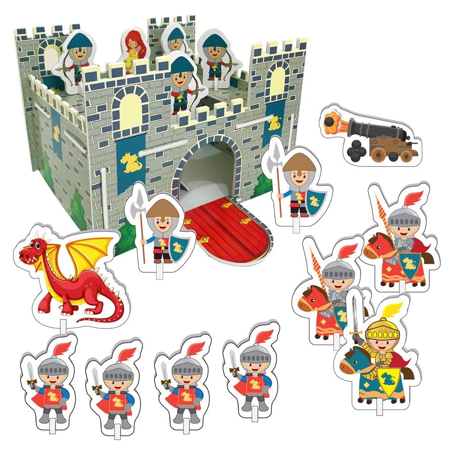 Puzzle 3D - Castel imagine edituradiana.ro