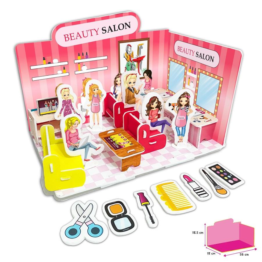 Puzzle 3D - Salon de înfrumusețare imagine edituradiana.ro