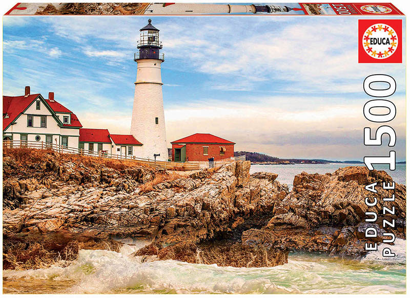 Puzzle cu 1500 de piese - Farul de lângă ocean imagine edituradiana.ro