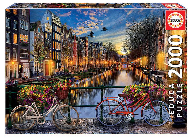 Puzzle cu 2000 de piese - Amsterdam imagine edituradiana.ro