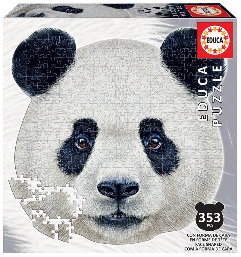 Puzzle cu 332 de piese - Cap de urs panda imagine edituradiana.ro