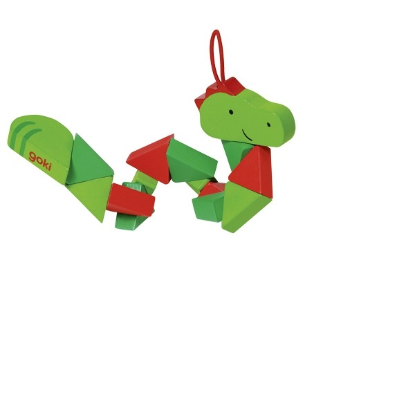 Puzzle de buzunar - Crocodil/clovn imagine edituradiana.ro