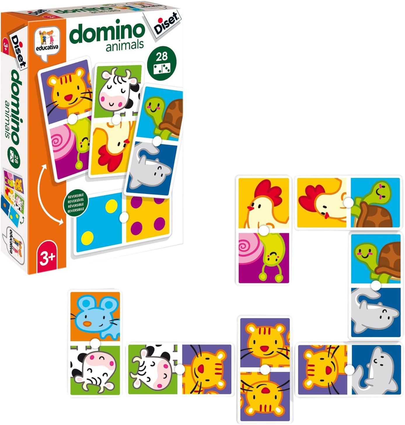 Joc domino - Animale imagine edituradiana.ro