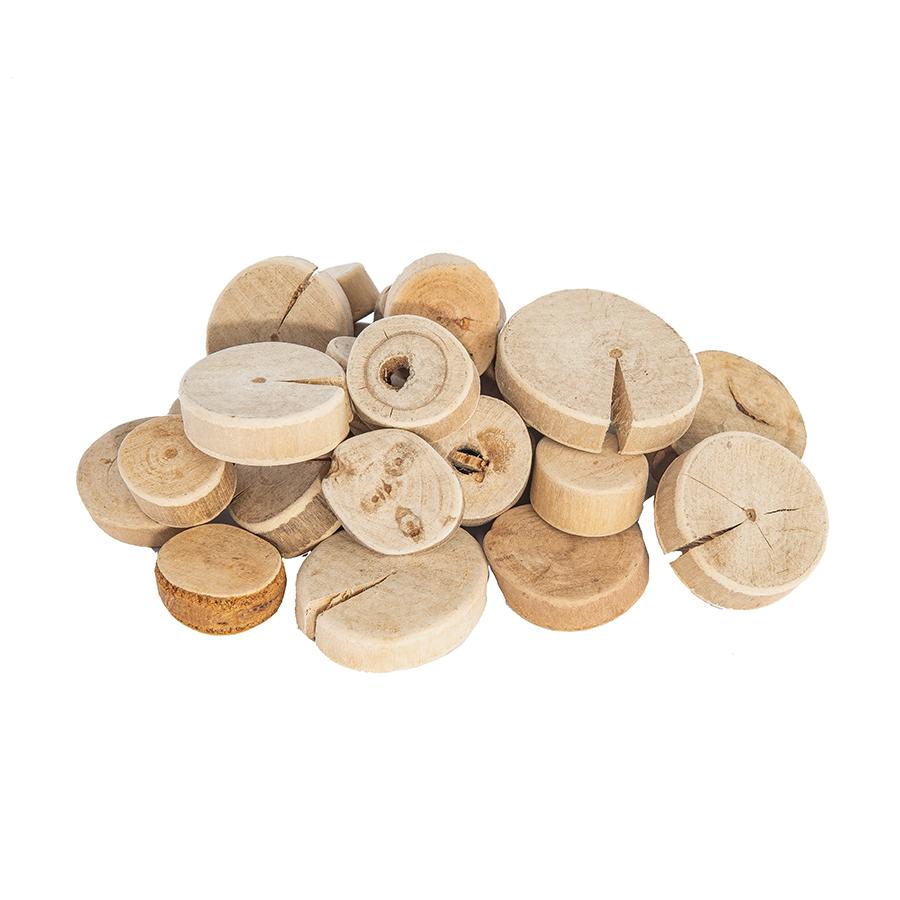 Rondele mari din lemn - 1 kg - 160 buc imagine edituradiana.ro