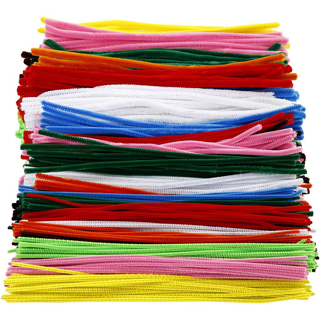 Sârmă plușată colorată - 700 bucăți imagine edituradiana.ro