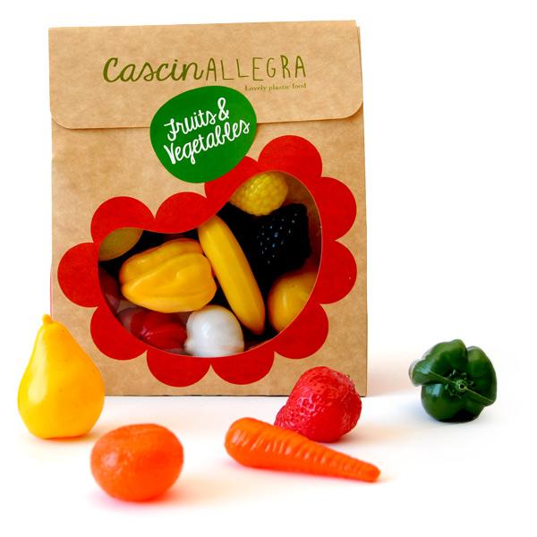 Set 22 de fructe și legume din plastic imagine edituradiana.ro