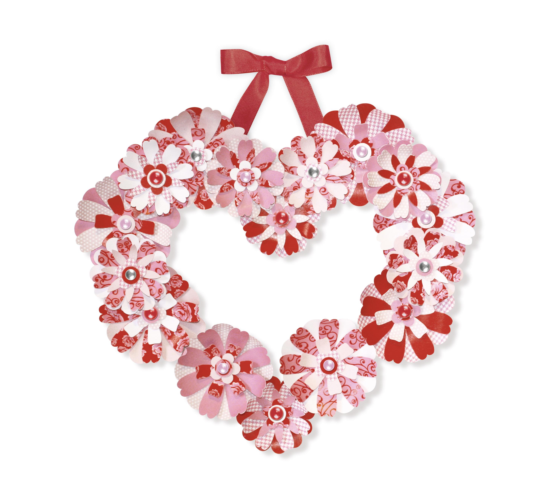 Set creativ din carton colorat - Coroniță decorativă roșie imagine edituradiana.ro