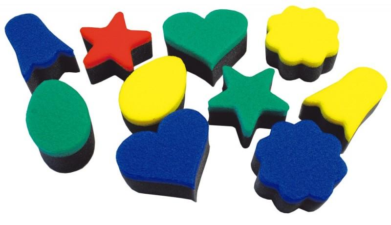 Set de 10 ștampile din burete - Forme de Paște imagine edituradiana.ro