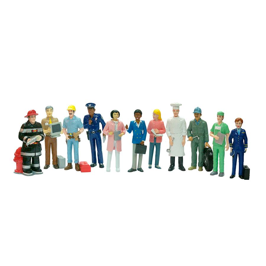 Set de 11 figurine - Profesii imagine edituradiana.ro
