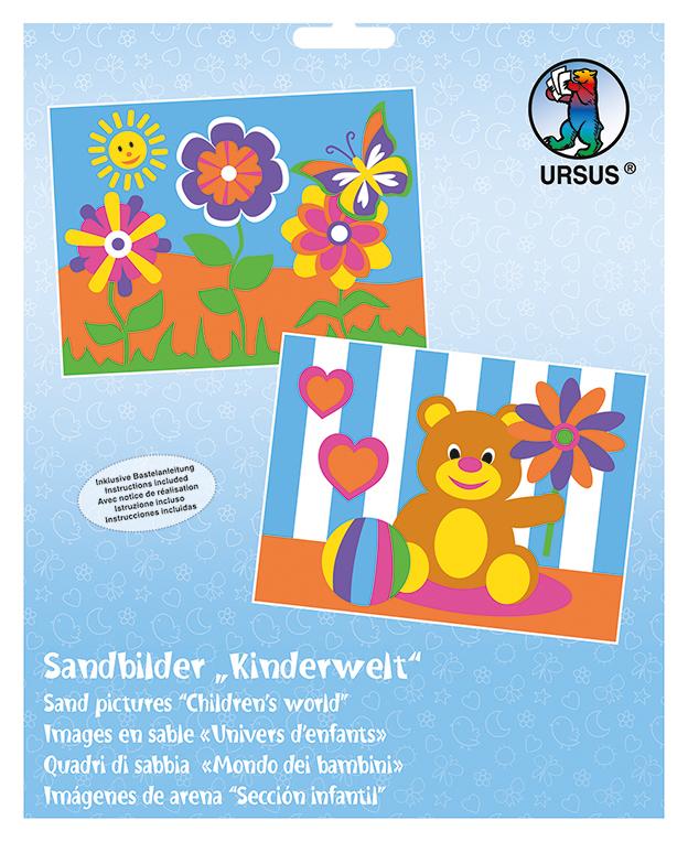 Set de 2 planșe de colorat cu nisip - Lumea copiilor imagine edituradiana.ro