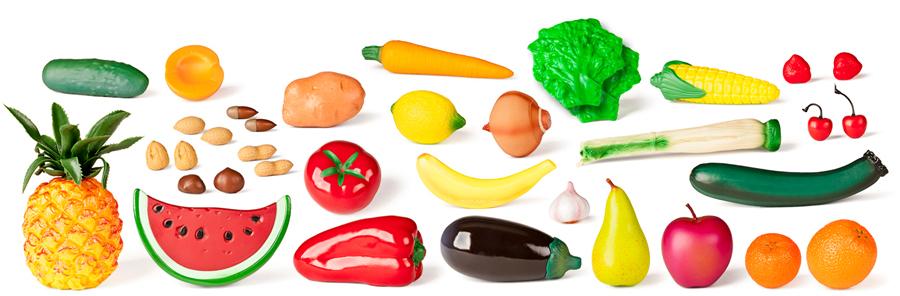 Set de 36 de figurine – Legume și fructe uscate imagine edituradiana.ro