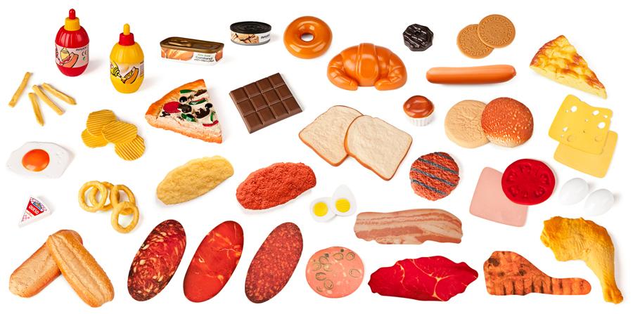 Set de 52 de figurine – Alimente fast food imagine edituradiana.ro