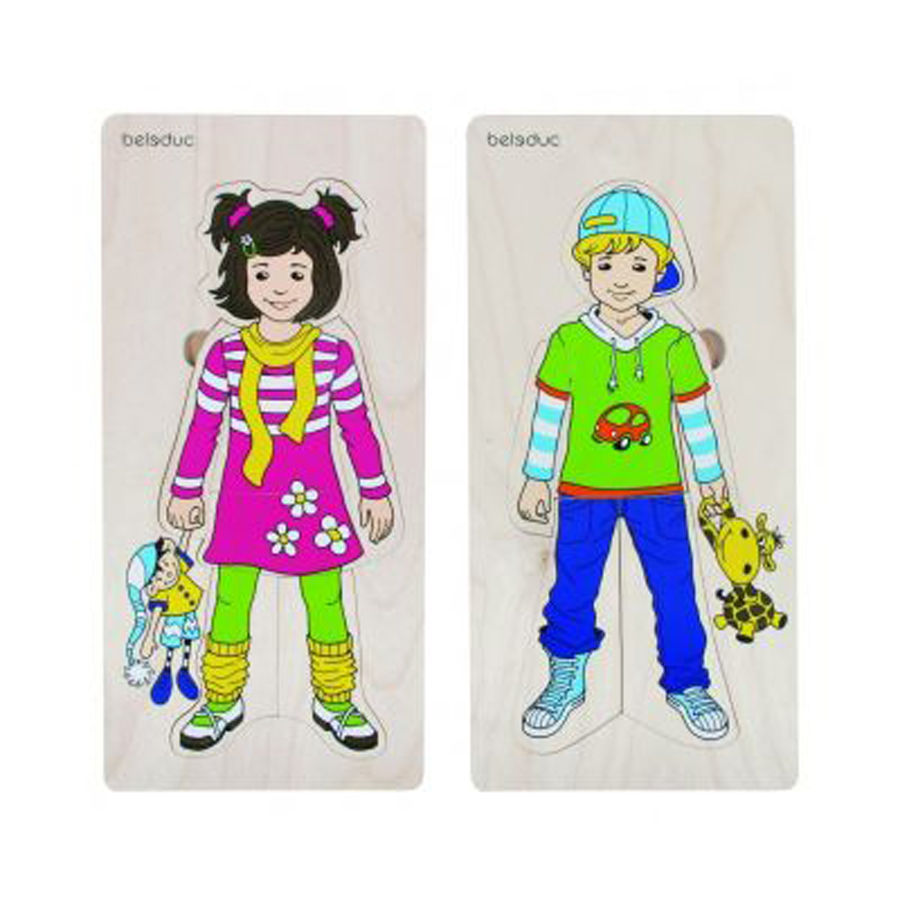Set de puzzle-uri stratificate - Anika și Denis imagine edituradiana.ro