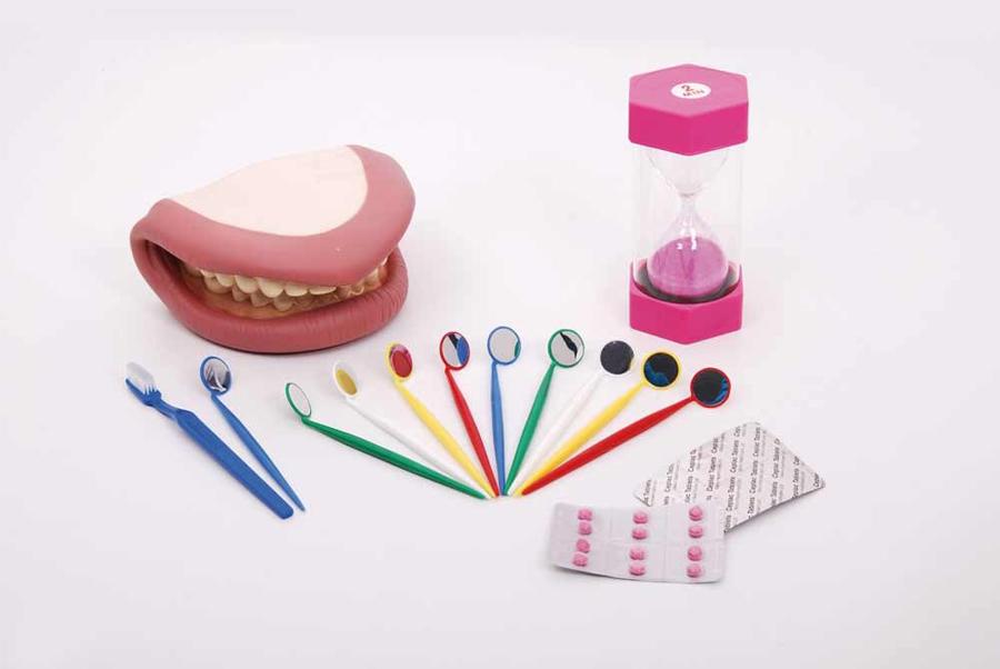 Set gigant, complet pentru educație dentară imagine edituradiana.ro