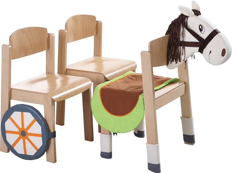 Set de pernuțe pentru scaun - Căluț imagine edituradiana.ro