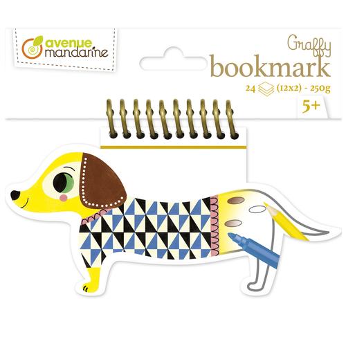 Set 24 semne de carte pentru colorat - Câine imagine edituradiana.ro