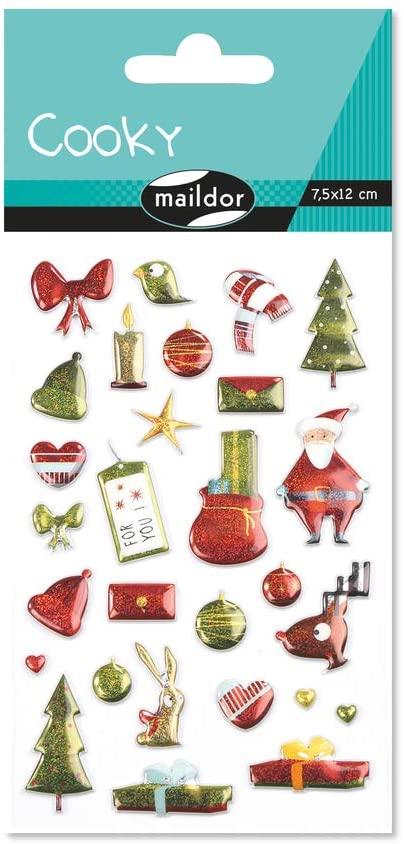 Set 28 de stickere 3D - Crăciun imagine edituradiana.ro